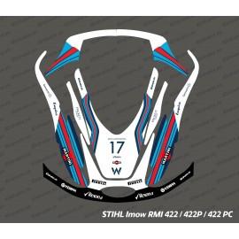 Etiqueta engomada de la F1 Williams Edición - corte del Robot Stihl museo internacional de la mujer 422 -idgrafix