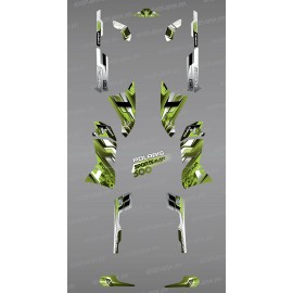 Kit dekor Pics Green Series - IDgrafix - Polaris 500 Sportsman