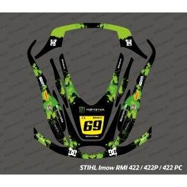 Sticker Monster Edition (Vert) - Robot de tonte Stihl Imow 422