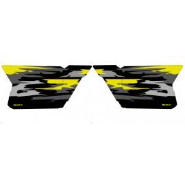 Kit décoration Portes CF Moto Zforce (Jaune)- Monster Edition - IDgrafix
