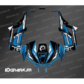 Kit décoration Forum Bleu 2016 - Idgrafix - Can Am 1000 Maverick -idgrafix