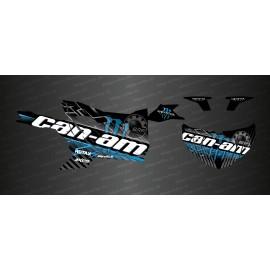 Kit décoration Lightning Edition (Bleu) - Idgrafix - Can Am Maverick SPORT
