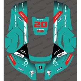 Adesivo GP Petronas Edizione - Robot rasaerba Husqvarna AUTOMOWER -idgrafix