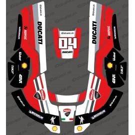 Etiqueta engomada de la GP Ducati Edition - Robot cortacésped Husqvarna AUTOMOWER -idgrafix