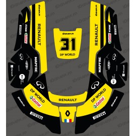 Adesivo Renault F1 Edition - Robot rasaerba Husqvarna AUTOMOWER -idgrafix