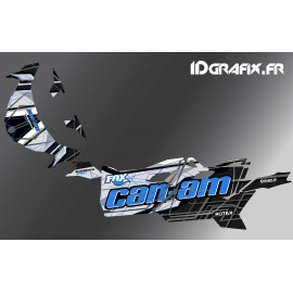 Kit decoration Bond Edition (Blue) - Idgrafix - Can Am Maverick SPORT - IDgrafix
