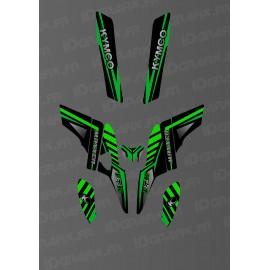 Kit Deco Fox Edition (Verde) - La Kymco Maxxer 300 -idgrafix