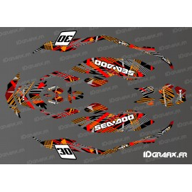 Kit décoration  Pops Edition (Orange/Rouge) SPARK