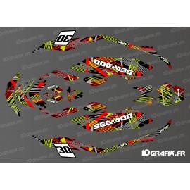 Kit de decoració Pops Edició (Verd/Vermell) ESPURNA -idgrafix