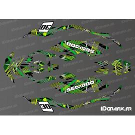 Kit de decoración de Cop Edición (Verde) de la CHISPA -idgrafix