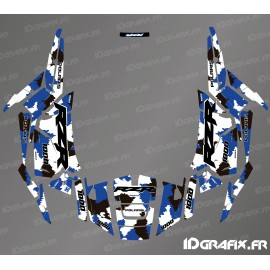 Kit décoration Camo Edition (Bleu)- IDgrafix - Polaris RZR 1000 S/XP