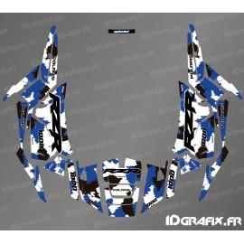 Kit decoration Camo Edition (Blue)- IDgrafix - Polaris RZR 1000 S/XP - IDgrafix