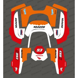 Etiqueta engomada de la Marca GP edition - Robot cortacésped Husqvarna AUTOMOWER 435-534 AWD -idgrafix