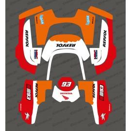 Sticker Marquez GP edition - Robot de tonte Husqvarna AUTOMOWER 435-534 AWD