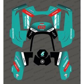 Etiqueta engomada de la GP Petronas Edición - Robot cortacésped Husqvarna AUTOMOWER 435-534 AWD -idgrafix
