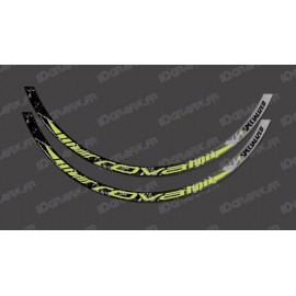 Lot 2 Stickers Brush Edition (Yellow Lime) - Rim Roval