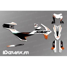 Kit deco Període Edició (Blanc) per a KTM SMC-R 690 -idgrafix