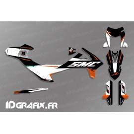 Kit deco Period Edition (Black) for KTM SMC-R 690 - IDgrafix