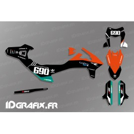 Kit deco Go Pro Edition (Black) for KTM SMC-R 690 - IDgrafix
