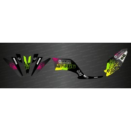 Kit dekor Splash Edition - IDgrafix - Yamaha 250 Raptor