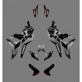 Kit de decoración de Camo Edition (Verde) - Yamaha MT-09 Tracer -idgrafix