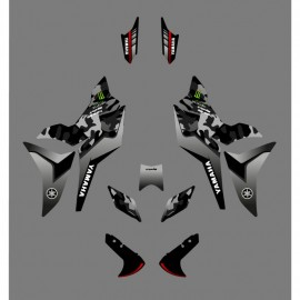 Kit decoration Camo Edition (Green) - Yamaha MT-09 Tracer - IDgrafix