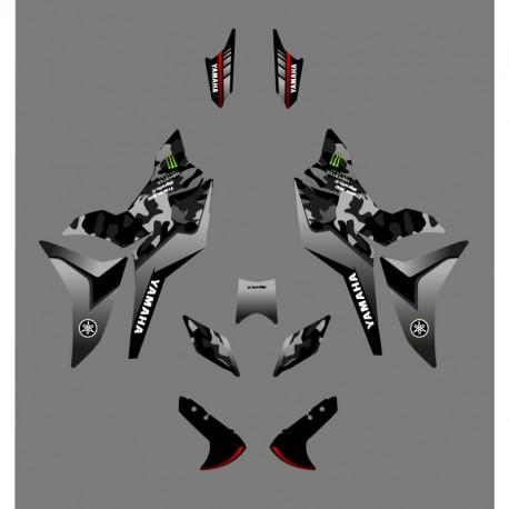 Kit decoration Camo Edition (Green) - Yamaha MT-09 Tracer - IDgrafix