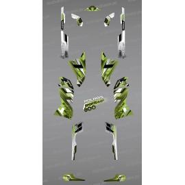 Kit dekor Pics Green Series - IDgrafix - Polaris Sportsman 800