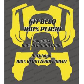 Etiqueta engomada de 100% personalizado - Robot cortacésped Husqvarna AUTOMOWER 435-534 AWD -idgrafix