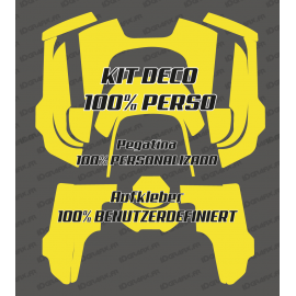 Sticker 100% custom - Roboter, mähen Husqvarna AUTOMOWER 435-534 AWD