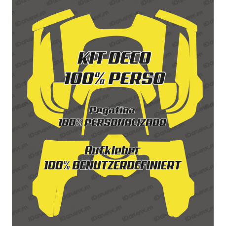 Sticker 100% custom - Robot mower Husqvarna AUTOMOWER 435-534 AWD-idgrafix