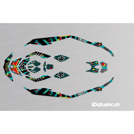 Kit decoration Light Rockstar Edition - SEADOO SPARK - IDgrafix
