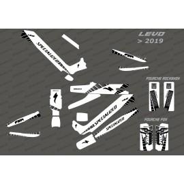Kit-deco-GP Edition Full (Weiß) - Specialized-Levo (nach 2019)