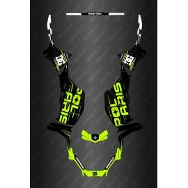 Kit déco DC Edition (Jaune Lime) - Polaris Sportsman 570 (après 2021)