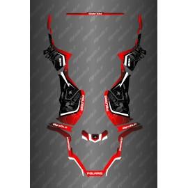 Kit déco Hexa Edition (Rouge) - Polaris Sportsman 570 (après 2021)