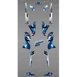 Kit dekor Blue Peaks Series - IDgrafix - Polaris Sportsman 800