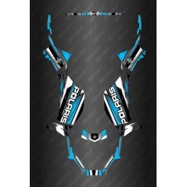 Kit déco Race Full Edition (Blue) - the Polaris Sportsman 570 (after 2021)-idgrafix