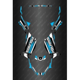 Kit de decoracion de Carrera Completo de la Edición (Azul) - el Polaris Sportsman 570 (después de 2021) -idgrafix
