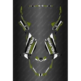 Kit de decoracion de Carrera Completo de la Edición (Caqui) - Polaris Sportsman 570 (después de 2021) -idgrafix