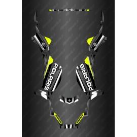Kit de decoracion de Carrera Completo de la Edición (Amarillo Limón) - Polaris Sportsman 570 (después de 2021) -idgrafix