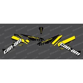 Kit de decoració Repartiment Edició (Groc) - Parcial Lat - IDgrafix - Can Am Renegade -idgrafix