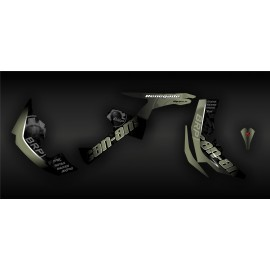 Kit de decoració BRP Groc Edició Completa (Sorra) - IDgrafix - Can Am Renegade -idgrafix