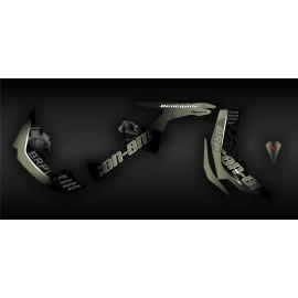 Kit de decoración de BRP Amarillo Edición Completa (Arena) - IDgrafix - Can Am Renegade -idgrafix