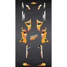 Kit decoration Yellow Peaks Series - IDgrafix - Polaris 800 Sportsman