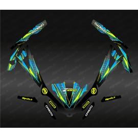 Kit décoration Speed Edition (Bleu) - Idgrafix - CF Moto ZForce 1000 Sport
