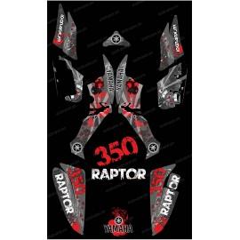 Kit décoration Survivor Gris - IDgrafix - Yamaha 350 Raptor