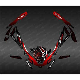 Kit décoration Spider Edition (Rouge) - Idgrafix - CF Moto ZForce 1000 Sport