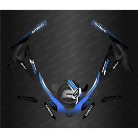 Kit de decoración de Black/White Edition - Idgrafix - CF Moto ZForce -idgrafix
