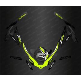Kit de decoració Black/White Edition - Idgrafix - CF Moto ZForce -idgrafix