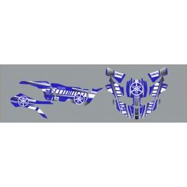Kit deco Vintage series Blue/White - Yamaha YXZ 1000 - IDgrafix
